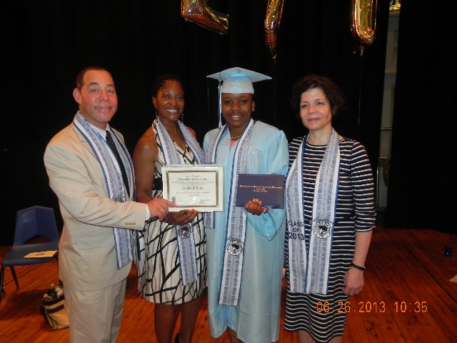 2013 – HS for Youth & Community Development @ Erasmus Hall